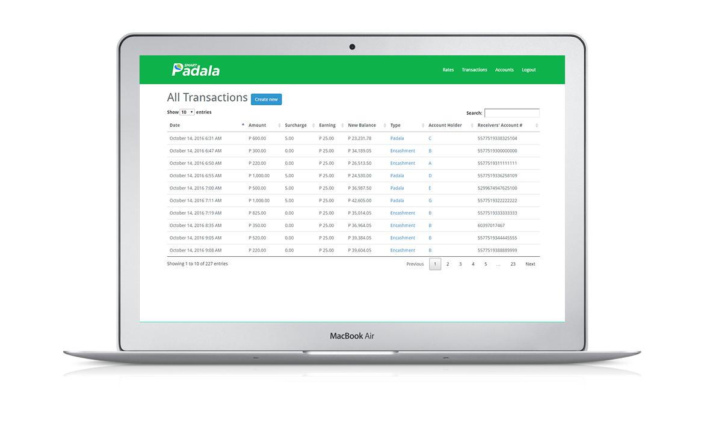 Smart Padala Report Generator
